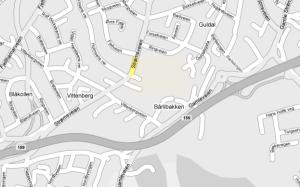 Kart Strømmen stadion