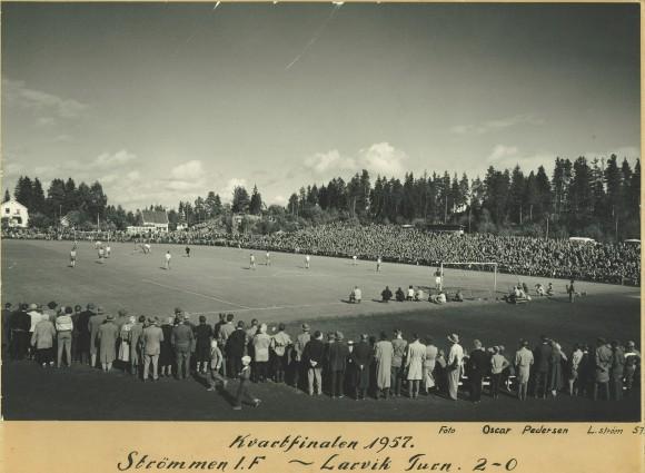Kvartfinale Strømmen IF - Larvik