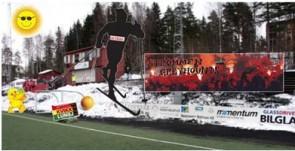 Tribunen klar for serieåpning mot Tromsdalen 2. påskedag