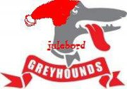 julebord greyhounds