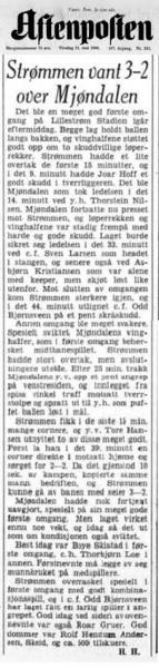 Aftenposten 31. mai 1966