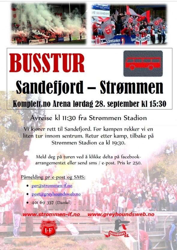 buss sandefjord2013 plakat